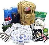 EVERLIT Earthquake Emergency Kits Survival Kit 72 Hrs 2 Person Bug Out Bag for Hurricanes, Floods, Tsunami, Other Disasters,Include Food Water, Gear, Hand-Crank Charger and Moreby EVERLIT