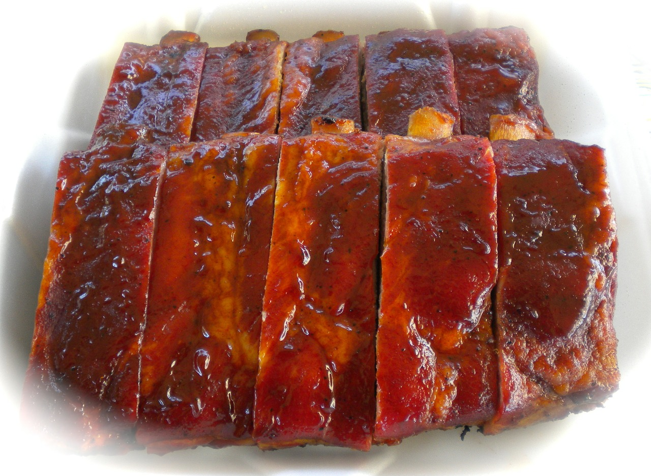 Crockpot barbecue ribs