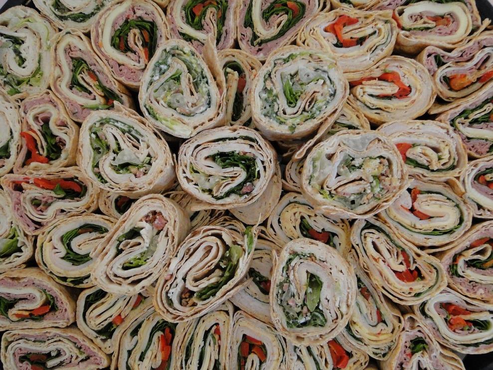 Turkey Bacon Wrap