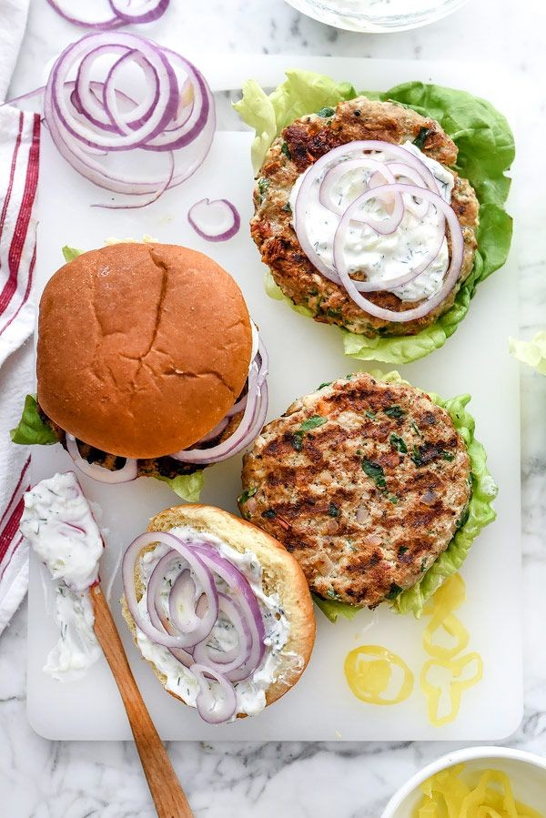 Healthy, delicious Turkey buger