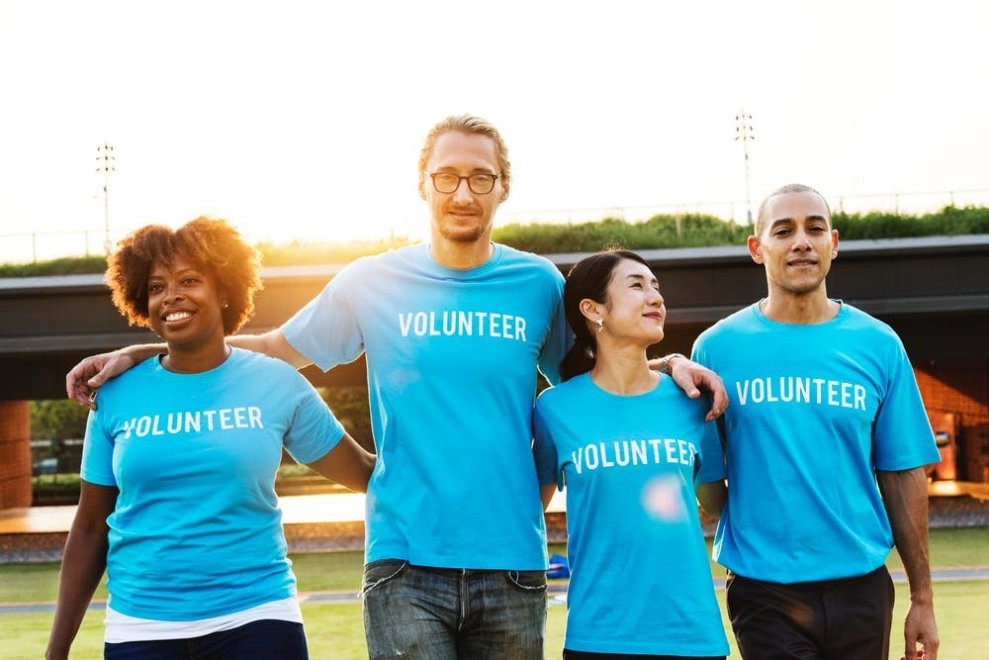 Volunteer your time.  Give back