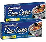 Make your clean up a breeze with slow cooker liners