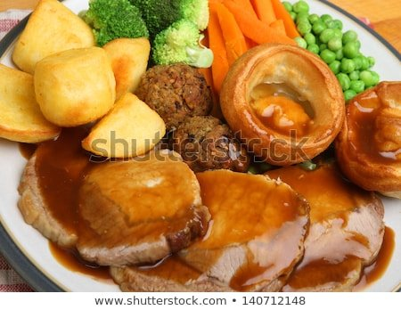 Moms melt in your mouth pork roast dinner