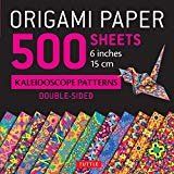 "Origami Paper 500 sheets Kaleidoscope Patterns 6"" (15 cm): Tuttle Origami Paper: High-Quality Double-Sided Origami Sheets Printed with 12 Different Designs (Instructions for 6 Projects Included) Loose Leaf – September 19, 2017  by Tuttle Publishing  (Editor)"