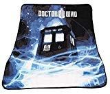"""Doctor Who Throw Blanket - TARDIS Gallifrey Fleece - 50"""" x 60"""" Afghan  byDoctor Who"""