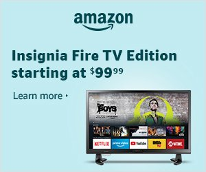 Insignia Fire TV Edition starting at $99.99