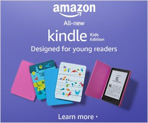 All-new Kindle Kids Edition - Includes access to thousands of books - Blue Cover  by Amazon