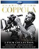 Francis Ford Coppola: 5-Film Collection (Apocalypse Now/Apocalypse Now Redux/One From the Heart/Tetro/The Conversation) [Blu-ray]  Box Set