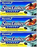 "Reynolds Metals Slow Cooker Liners 13""X21"" - 3 Pack (12 Liners Total)  by Reynolds Wrap"