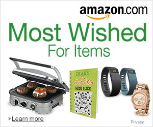 Shop Amazon - Most Wished For Items