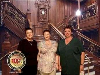 The Titanic Grand staircase, Branson, Missouri.