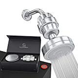 Luxury Filtered Shower Head Set 15 Stage Shower Filter For Hard Water Removes Chlorine and Harmful Substances - Showerhead Filter High Output  byAquaHomeGroup
