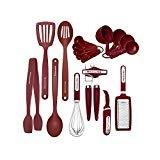 KitchenAid KC448BXERA 17-piece Tools and Gadget Set, Red  byKitchenAid