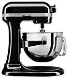 KitchenAid KL26M1XOB Professional 6-Qt. Bowl-Lift Stand Mixer - Onyx Black  by KitchenAid