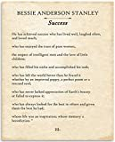 Bessie Anderson Stanley - He Has Achieved Success - 11x14 Unframed Typography Book Page Print - Great Gift and Decor for Poets, Artists and Home Under $15  by Personalized Signs by Lone Star Art