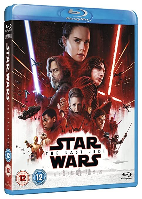 Star Wars: The Last Jedi - Limited Edition The First Order Sleeve [Blu-ray] [2017]  Limited Edition  Carrie Fisher (Actor), Daisy Ridley (Actor), & 1 more
