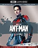ANT-MAN [Blu-ray]  4K  Paul Rudd(Actor, Writer),Evangeline Lilly(Actor),&1more