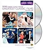 TCM Greatest Classic Film Collection: Astaire & Rogers (The Gay Divorcee / Top Hat / Swing Time / Shall We Dance)  Astaire, Fred(Actor),Rogers, Ginger(Actor)Rated:  NR
