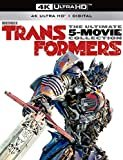 Transformers The Ultimate 5-Movie Collection [Blu-ray]  4k  Bernie Mac(Actor),Shia LaBeouf(Actor),&1more