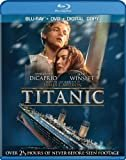 Titanic (Four-Disc Combo: Blu-ray / DVD / Digital Copy)  DVD & Digital Copy Included  Box Set  Leonardo DiCaprio (Actor), Kate Winslet (Actor), & 1 more