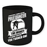 Lineman Coffee Mug Support Your Local Pole Dancer Funny Novelty Gift 11 Oz Coffee Mug Gift For Men Women  byFunny Lineman Coffee Mug