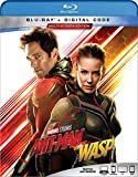 ANT-MAN AND THE WASP [Blu-ray]  Blu-ray + Digital Code  Paul Rudd(Actor, Writer),Evangeline Lilly(Actor),&1more
