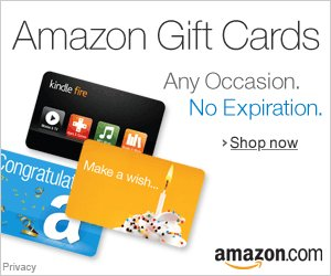 An Amazon gift card is a great way to show your appreciation!