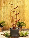 """John Timberland Tiered Copper Leaves Rustic Modern Outdoor Floor Water Fountain 41"""" High Cascading for Yard Garden Patio Deck Home  byJohn Timberland"""