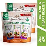 Nature's Garden Organic Trail Mix Snack Packs, Multi Pack 28.8 oz - 24 Individual Servings (Pack of 2)  by Nature's Garden