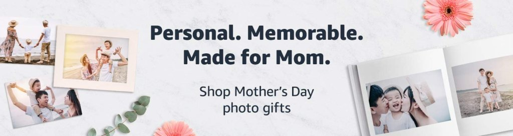 Share tge memories with photo gifts for mom