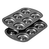 Wilton Non-Stick 6-Cavity Donut Baking Pans, 2-Count  by Wilton