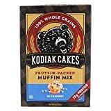 Kodiak Cakes - Protein-Packed Muffin Mix Blueberry - 14 oz.  byKodiak