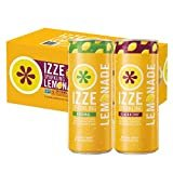 IZZE Sparkling Lemonade, Blackberry & Original Variety Pack, 8.4oz Cans (24 Pack)  byIzze