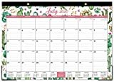 """2020-2021 Desk Calendar - 18 Months Desk Calendar, 17"""" x 12"""", Monthly Desk or Wall Calendar, July 2020 - December 2021, Large Ruled Blocks Perfect for Planning and Organizing for Home or Office  byMaaIbok"""
