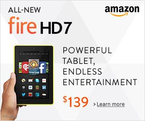 Shop Amazon - Introducing Fire HD 7 - Powerful Tablet, Endless Entertainment