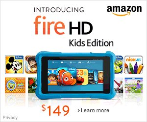 Shop Amazon - Introducing Fire HD Kids Edition - Everything Kids Love. Everything Parents Want.