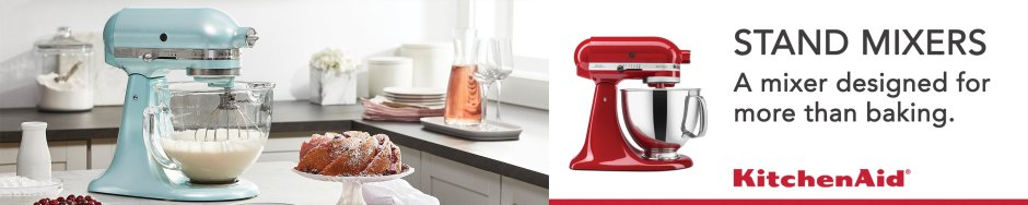 Kitchen Aid Stand Mixer - an investment you'll love everytime you use it!