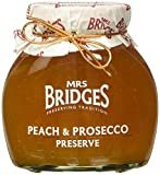 Mrs Bridges Peach and Prosecco Preserve, 12-Ounce  by Mrs Bridges