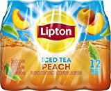 Lipton Iced Tea, Peach (12 Count, 16.9 Fl Oz Each)  byLipton