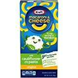 Kraft Original Flavor Macaroni and Cheese with Cauliflower Pasta Meal (5.5 oz Boxes, Pack of 12)  by Kraft