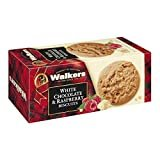 Walkers White Chocolate & Raspberry Cookies - 5.3 oz  by Walkers