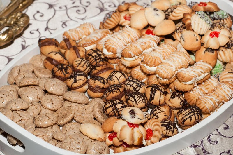 Assorted cookies to celebrate.