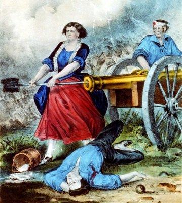 Mary Ludwig Hays McCauley- Revolutionary Hero - (October 13, 1754 - January 22, 1832)