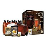 Mr. Beer Complete Beer Making 2 Gallon Starter Kit, Premium Gold Edition, Brown  by Mr. Beer