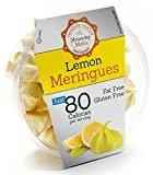 Original Meringue Cookies (Lemon) • 80 calories per serving, Gluten Free, Fat Free, Nut Free, Low Calorie Snack, Kosher, Parve • by Krunchy Melts  byKrunchy Melts